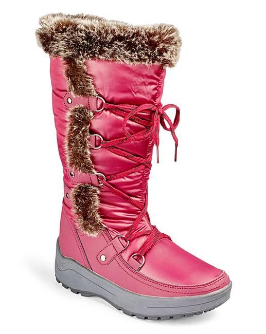 Heavenly Soles Winter Snow Boots EEE Fit | Marisota