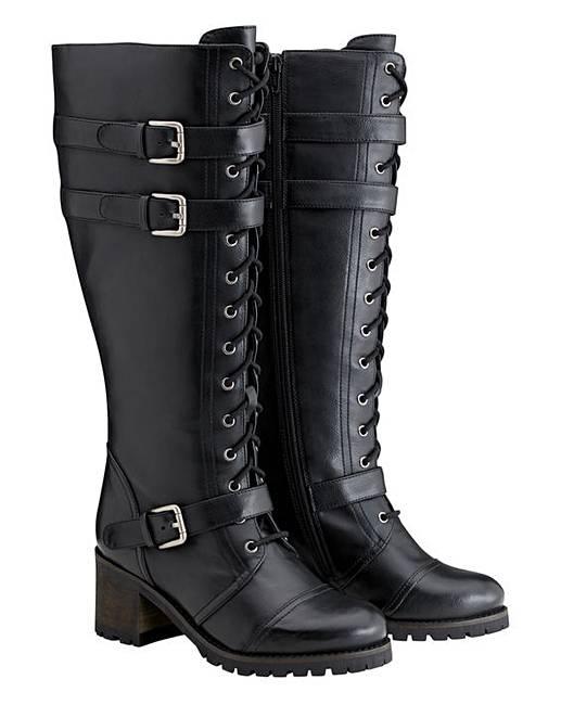 Stivali con Gambale Largo XXL per donne Curvy & Plus Size