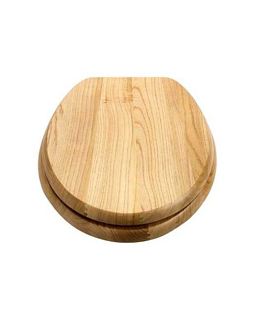 Solid Wood Slow Close Toilet Seat Home Beauty Gift Shop