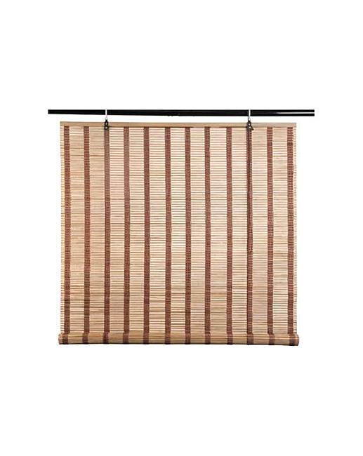 eastern style bamboo roller blind 4ft fifty plus. Black Bedroom Furniture Sets. Home Design Ideas