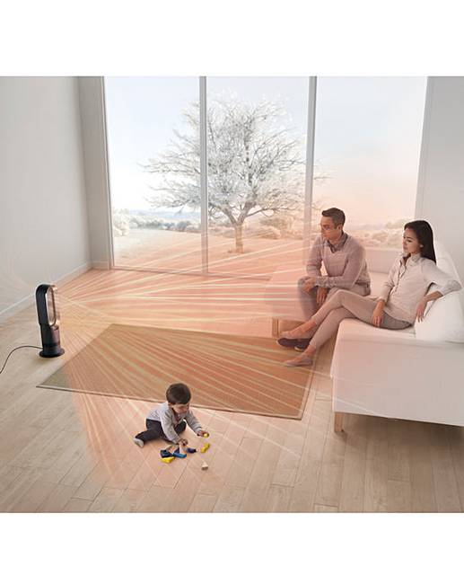 dyson am09 hot and cool fan fifty plus. Black Bedroom Furniture Sets. Home Design Ideas