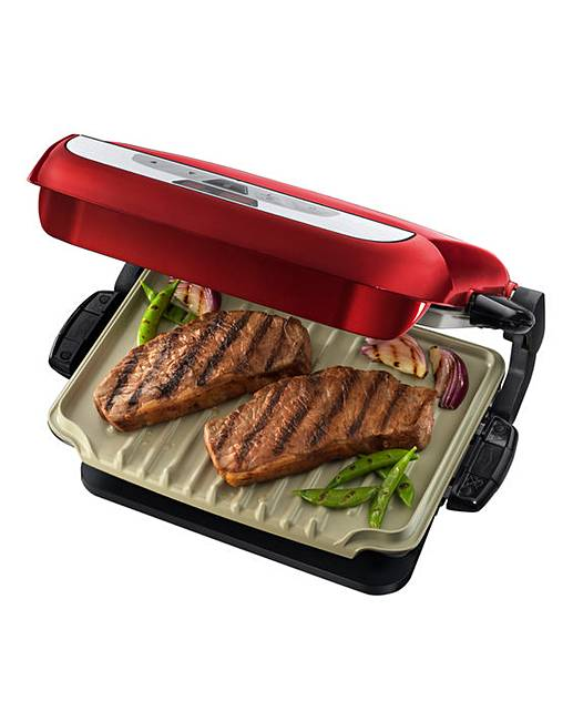 George foreman red evolve grill fifty plus - George foreman replacement grill plates ...