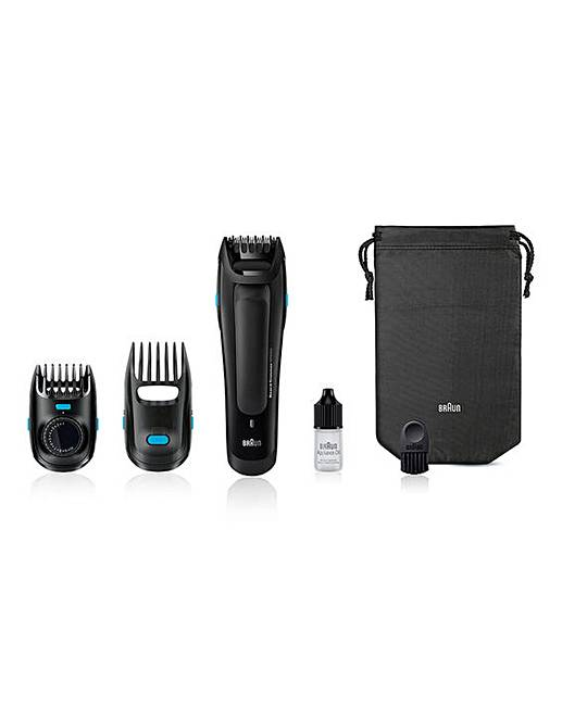 braun 2 in 1 beard and head trimmer jacamo. Black Bedroom Furniture Sets. Home Design Ideas