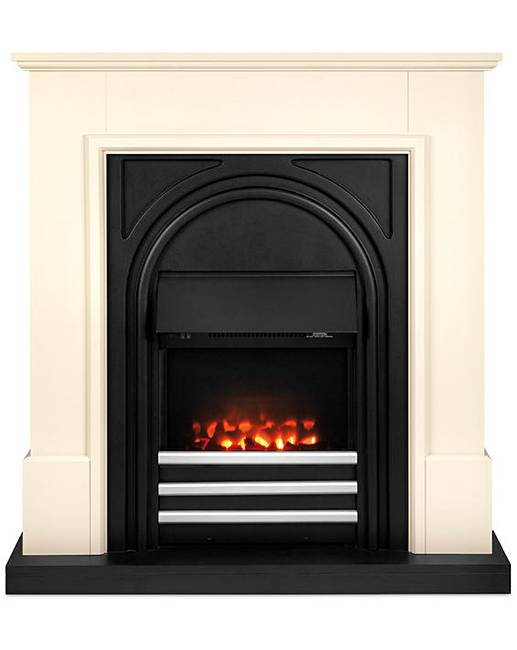 beldray york electric fire suite fifty plus. Black Bedroom Furniture Sets. Home Design Ideas