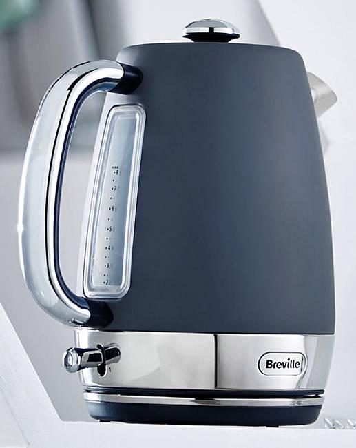breville strata matt grey jug kettle j d williams. Black Bedroom Furniture Sets. Home Design Ideas