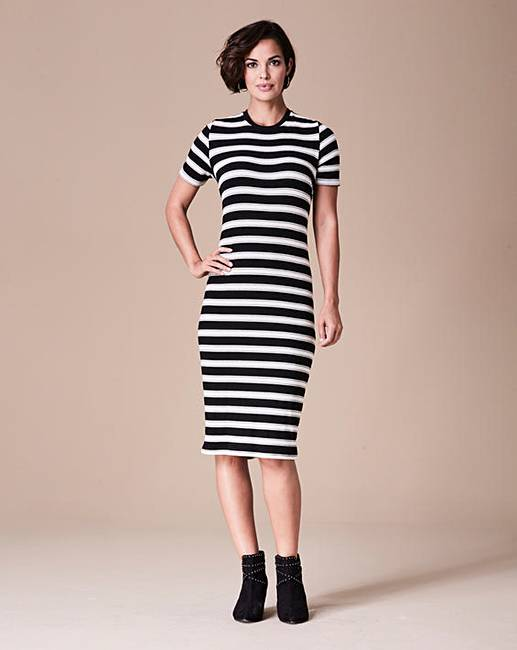 Shop for black white stripe knit dress online at Target. Free shipping on purchases over $35 and save 5% every day with your Target REDcard.