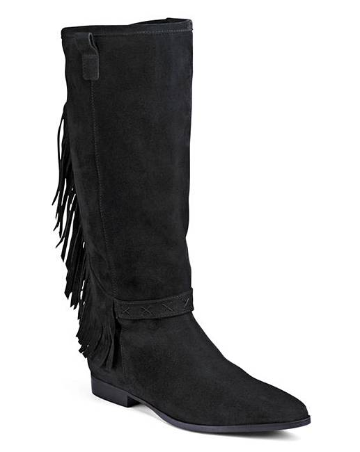 bronx dallan knee high boots d fit simply be