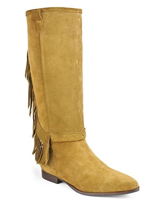 bronx dallan knee high boots d fit j d williams