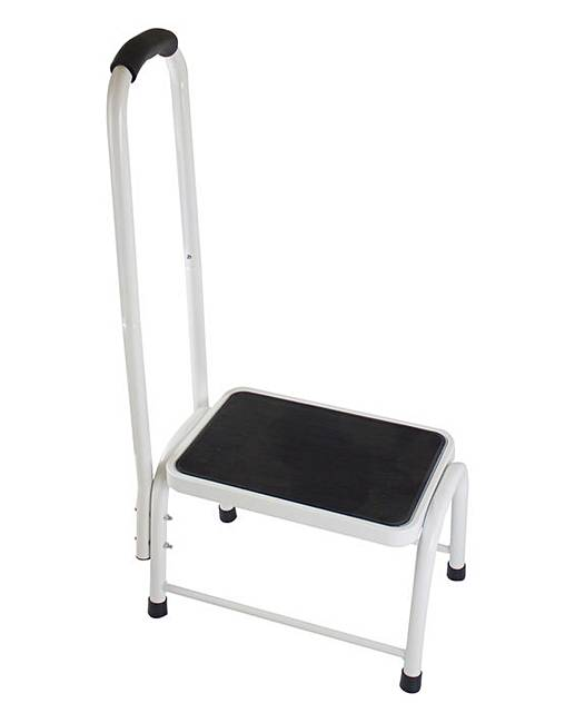 Step Stool With Handrail Ambrose Wilson