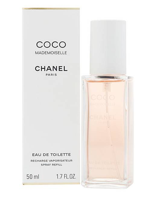chanel coco mademoiselle 50ml edt refill marisota. Black Bedroom Furniture Sets. Home Design Ideas
