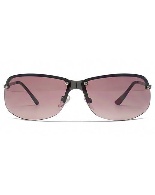 premium selection 81c38 48628 french connection rimless sunglasses