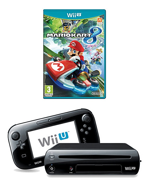 nintendo wii u mario kart 8 pack fifty plus. Black Bedroom Furniture Sets. Home Design Ideas