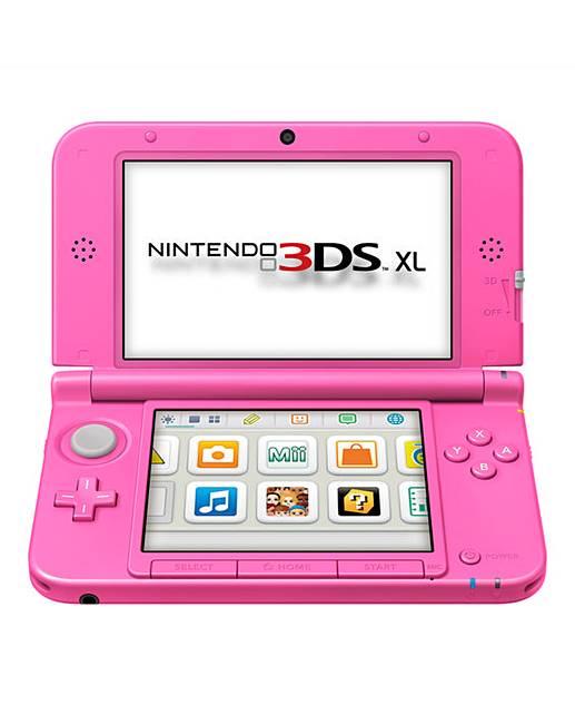 Nintendo 3ds xl pink j d williams for Housse 3ds xl zelda