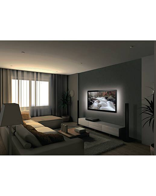 led mood lighting. konig cool white led usb tv mood light led lighting