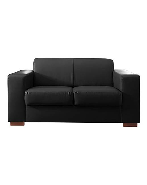 Memphis Faux Leather 2 Seater Sofa Fifty Plus