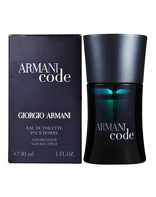 armani code pour homme 30ml edt fashion world. Black Bedroom Furniture Sets. Home Design Ideas