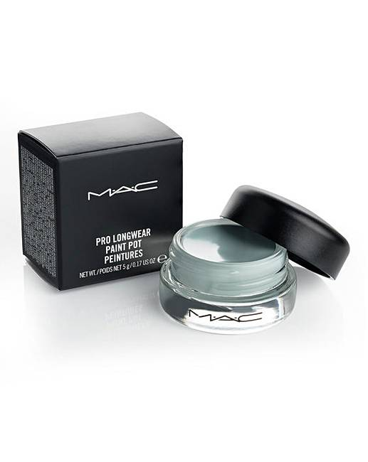 Mac paint pot cream shadow clearwater j d williams for Mac pro longwear paint pot painterly