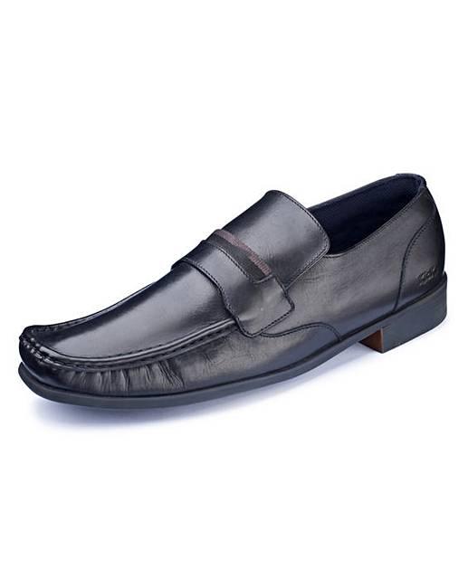 kickers slip on shoes jacamo