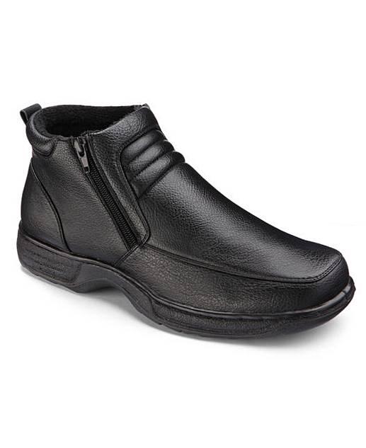 cushion walk mens boots wide fit premier