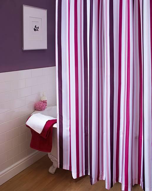 Willow Plum Shower Curtain