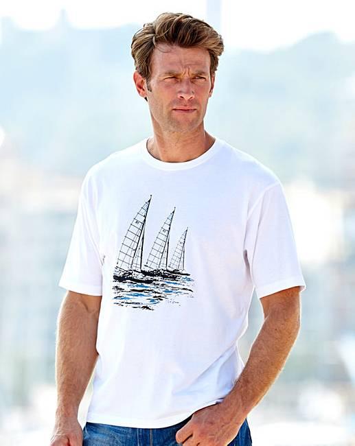 Southbay short sleeve print t shirt j d williams for South bay t shirt printing