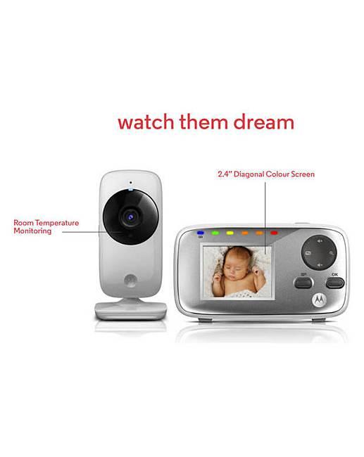 motorola mbp482 baby video monitor marisota. Black Bedroom Furniture Sets. Home Design Ideas