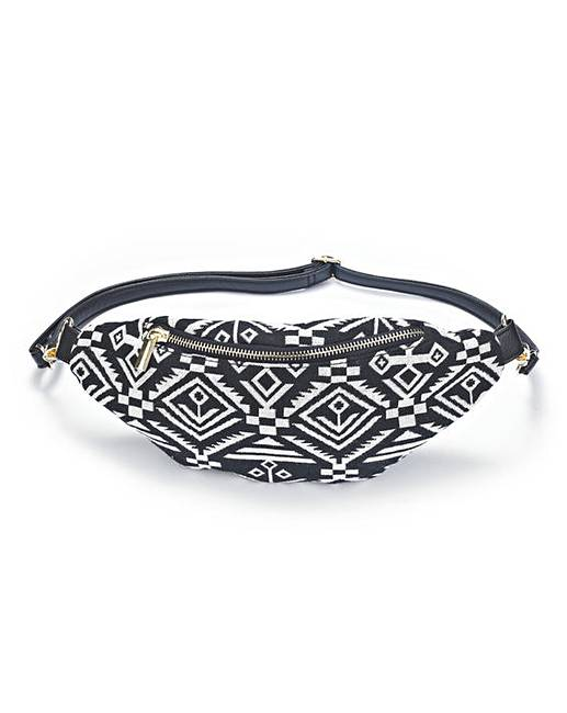 Xiaowli Fanny Pack, Boho Stripe Waist Bag Festival Rave Bum Bags Travel Hiking Belt Bag for Hip, Tribal, Aztec bag (D mix color black+white) by Xiaowli. $ $ 13 99 Prime. FREE Shipping on eligible orders. In stock on September 25, Save 5% with coupon.