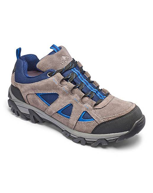 snowdonia mens walking shoes ew fit j d williams