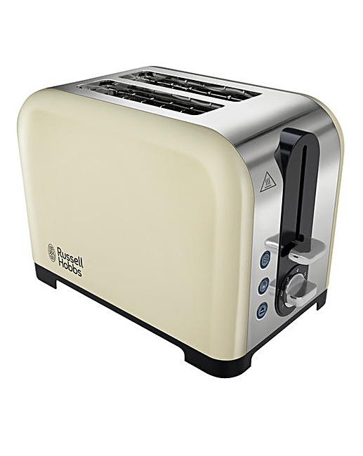 russell hobbs canterbury 2 slice toaster fashion world. Black Bedroom Furniture Sets. Home Design Ideas
