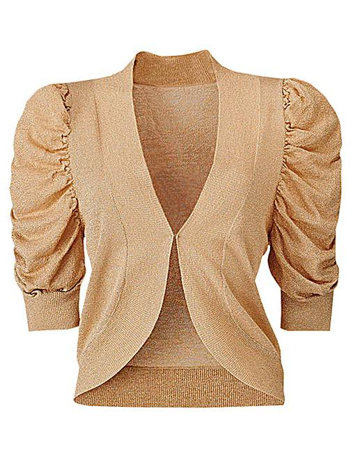 Short Sleeve Shrug Cardigan | J D Williams