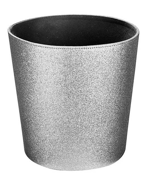 glitter faux leather room caddy bin the brilliant gift