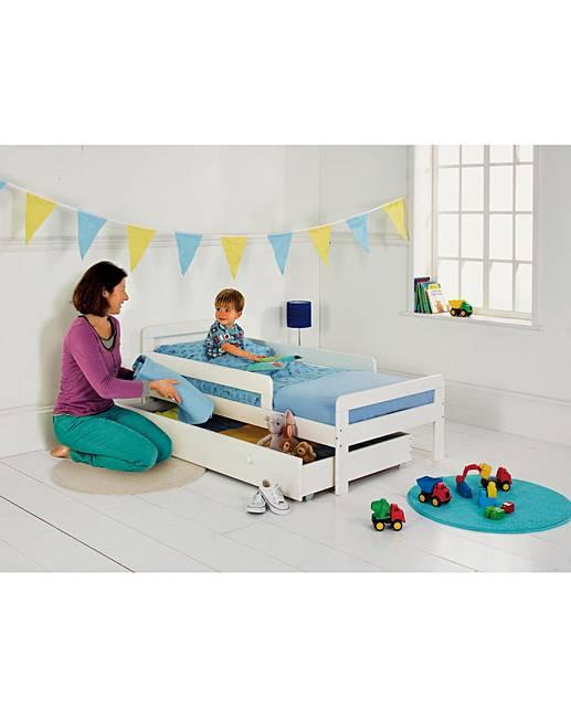 Ellis Storage Toddler Bed Frame