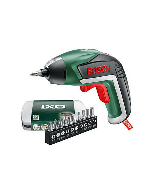 bosch ixo v cordless screwdriver 3 6v j d williams. Black Bedroom Furniture Sets. Home Design Ideas