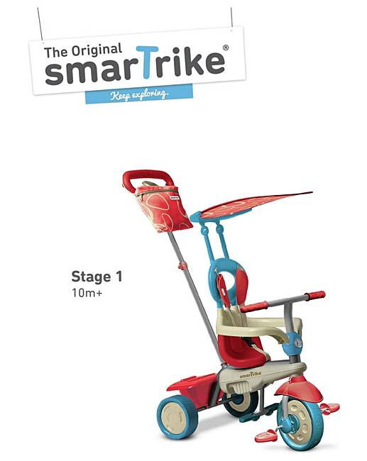 smart trike 4 in 1 trike vanilla premier man. Black Bedroom Furniture Sets. Home Design Ideas