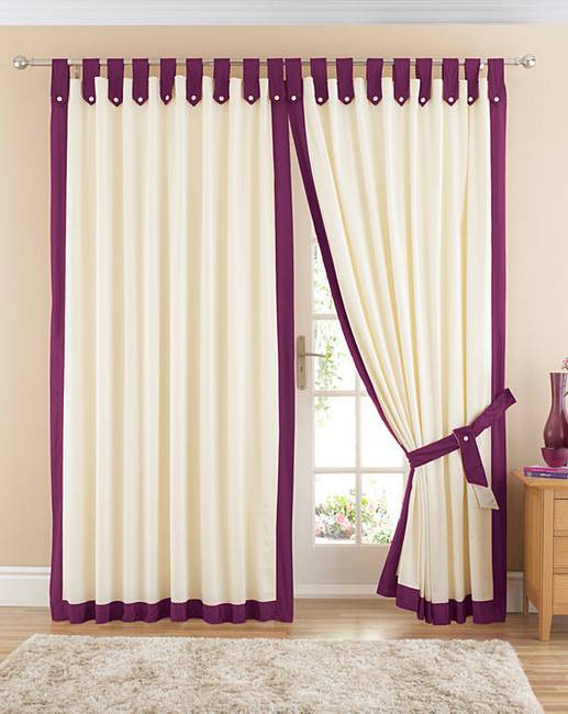 Claremont Lined Tab Top Curtains