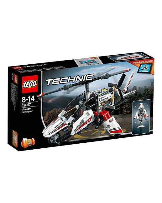 lego technic ultralight helicopter oxendales. Black Bedroom Furniture Sets. Home Design Ideas