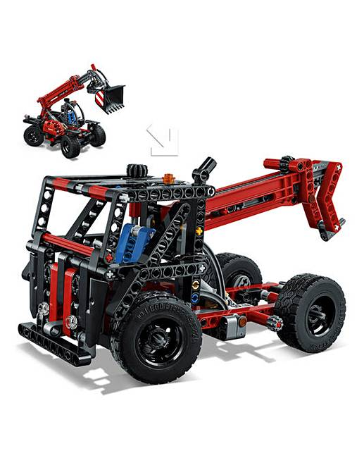 lego technic telehandler oxendales. Black Bedroom Furniture Sets. Home Design Ideas