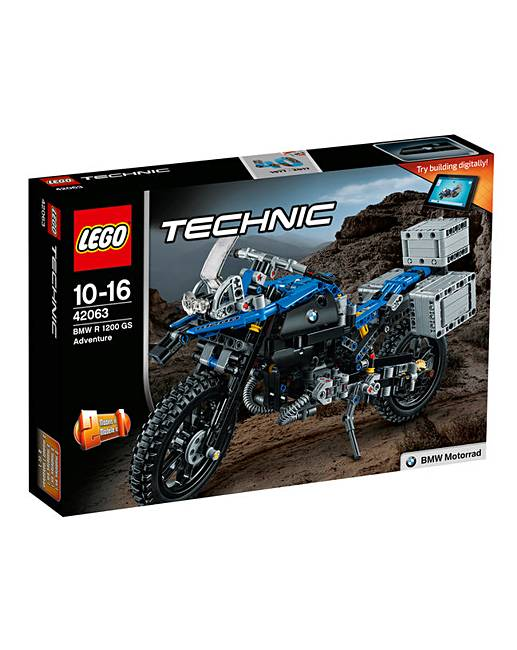 lego technic bmw r 1200 gs adventure fifty plus. Black Bedroom Furniture Sets. Home Design Ideas