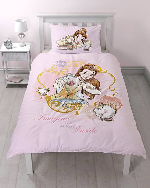 Beauty Amp The Beast Personalised Duvet J D Williams