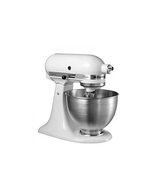 kitchenaid 5k45ssbwh classic stand mixer marisota. Black Bedroom Furniture Sets. Home Design Ideas