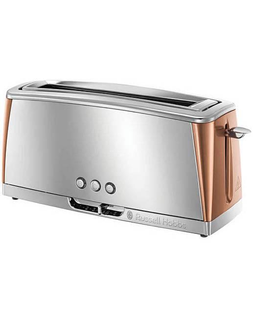 russell hobbs 2 slice copper toaster premier man. Black Bedroom Furniture Sets. Home Design Ideas