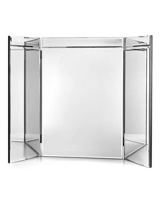 Venice Tri Fold Dressing Table Mirror