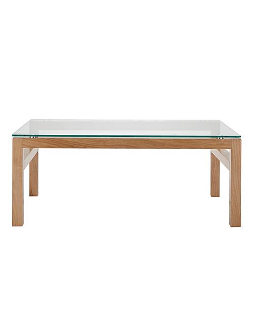 Chicago Oak Coffee Table Oxendales