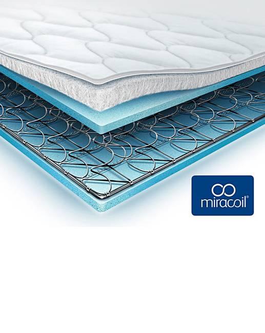 silentnight miracoil pillowtop mattress j d williams. Black Bedroom Furniture Sets. Home Design Ideas