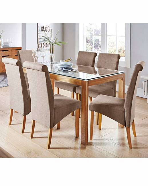 chicago oak dining table premier man