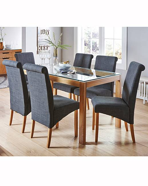 chicago oak dining table marisota