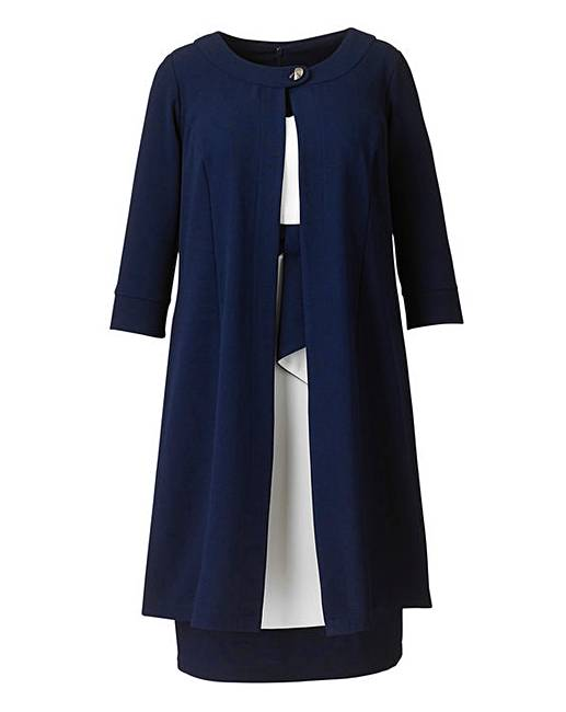 Joanna Hope Dress and Jacket Set | Simply Be
