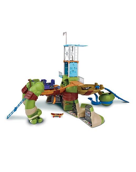 Turtles Mutations Giant Leonardo Playset Crazy Clearance