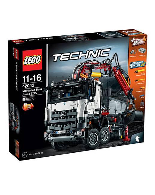 Lego technic mercedes benz arocs 3245 the brilliant gift for Mercedes benz gift shop