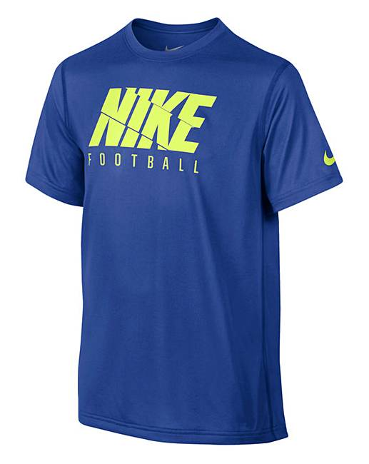 Nike Older Boys Dry Fit T Shirt Fifty Plus